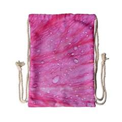 Pink Drawstring Bag (small)