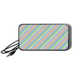 Stripes 2015 0401 Portable Speaker (black)  by JAMFoto