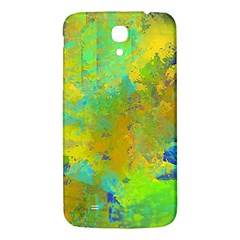 Abstract In Blue, Green, Copper, And Gold Samsung Galaxy Mega I9200 Hardshell Back Case by theunrulyartist