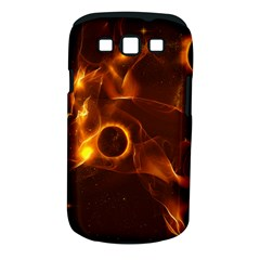 Fire And Flames In The Universe Samsung Galaxy S III Classic Hardshell Case (PC+Silicone) by FantasyWorld7