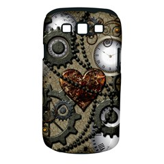 Steampunk With Heart Samsung Galaxy S III Classic Hardshell Case (PC+Silicone) by FantasyWorld7