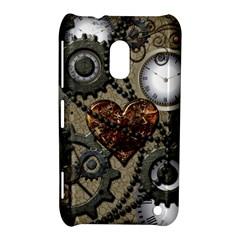Steampunk With Heart Nokia Lumia 620 by FantasyWorld7