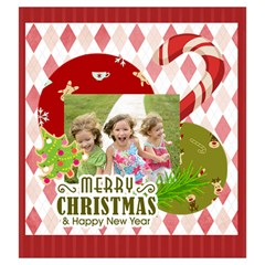 Xmas By Xmas   Drawstring Pouch (large)   G8hbe7hnixhy   Www Artscow Com Front