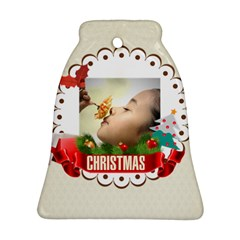 Xmas By Xmas   Bell Ornament (two Sides)   Yvlfmf9z9lqi   Www Artscow Com Back