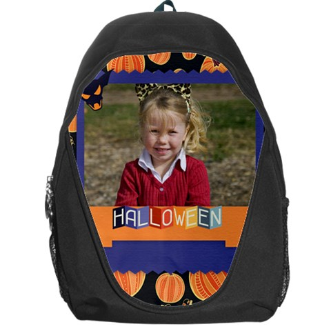 Halloween By Helloween   Backpack Bag   1p42n8f825p9   Www Artscow Com Front