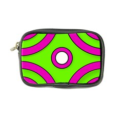 Neon Green Black Pink Abstract  Coin Purse by OCDesignss