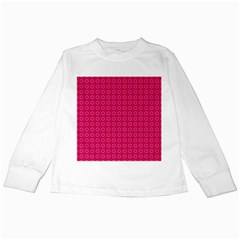 Cute Pattern Gifts Kids Long Sleeve T-Shirts by creativemom