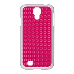 Cute Pattern Gifts Samsung Galaxy S4 I9500/ I9505 Case (white) by creativemom