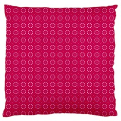Cute Pattern Gifts Large Flano Cushion Cases (two Sides)  by creativemom