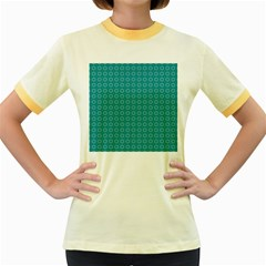 Cute Pattern Gifts Women s Fitted Ringer T-Shirts by creativemom