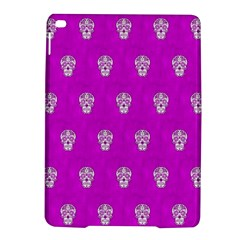Skull Pattern Hot Pink Ipad Air 2 Hardshell Cases by MoreColorsinLife