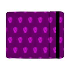 Skull Pattern Purple Samsung Galaxy Tab Pro 8.4  Flip Case by MoreColorsinLife