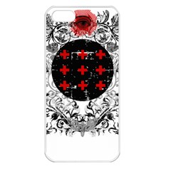 Occult Theme Apple Iphone 5 Seamless Case (white) by Lab80