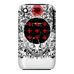 Occult Theme Apple Iphone 3g/3gs Hardshell Case (pc+silicone) by Lab80