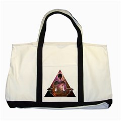 Deep Meditation #2 Two Tone Tote Bag  by Lab80