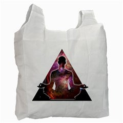 Deep Meditation #2 Recycle Bag (two Side)  by Lab80