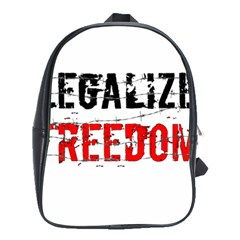 Legalize Freedom School Bags(large)  by Lab80