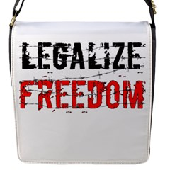 Legalize Freedom Flap Messenger Bag (s) by Lab80