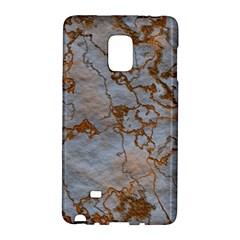 Marbled Lava Orange Galaxy Note Edge