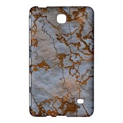 Marbled Lava Orange Samsung Galaxy Tab 4 (7 ) Hardshell Case  by MoreColorsinLife