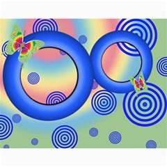 Colorful Calendar 2016 By Galya   Wall Calendar 11  X 8 5  (12 Months)   N5u84xwnxnms   Www Artscow Com Month