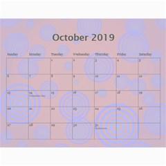 Colorful Calendar 2016 By Galya   Wall Calendar 11  X 8 5  (12 Months)   N5u84xwnxnms   Www Artscow Com Oct 2016
