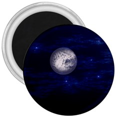Moon And Stars 3  Magnets by theunrulyartist