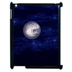 Moon and Stars Apple iPad 2 Case (Black)