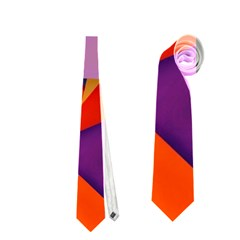 Geo Fun 8 Hot Colors Neckties (Two Side)  by MoreColorsinLife