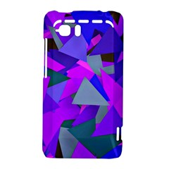 Geo Fun 8 Inky Blue HTC Vivid / Raider 4G Hardshell Case  by MoreColorsinLife