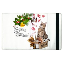 Free books for Christmas Apple iPad 2 Flip Case by JustKidding