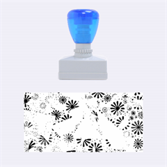 Lovely Allover Flower Shapes Rubber Stamps (medium)  by MoreColorsinLife