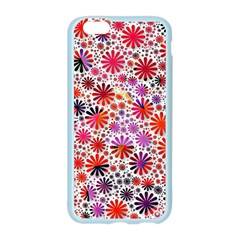 Lovely Allover Flower Shapes Apple Seamless iPhone 6 Case (Color) by MoreColorsinLife