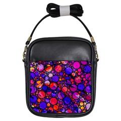 Lovely Allover Hot Shapes Girls Sling Bags by MoreColorsinLife