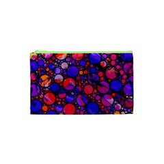 Lovely Allover Hot Shapes Cosmetic Bag (xs) by MoreColorsinLife