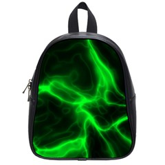 Cosmic Energy Green School Bags (small)  by ImpressiveMoments