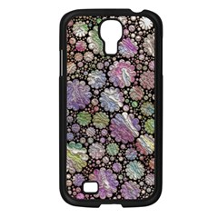 Sweet Allover 3d Flowers Samsung Galaxy S4 I9500/ I9505 Case (black) by MoreColorsinLife