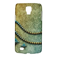 Elegant Vintage With Pearl Necklace Galaxy S4 Active by FantasyWorld7