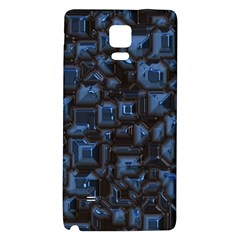 Metalart 23 Blue Galaxy Note 4 Back Case by MoreColorsinLife