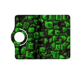 Metalart 23 Green Kindle Fire HD (2013) Flip 360 Case by MoreColorsinLife