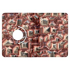 Metalart 23 Peach Kindle Fire Hdx Flip 360 Case by MoreColorsinLife