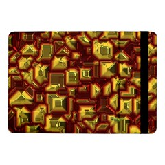 Metalart 23 Red Yellow Samsung Galaxy Tab Pro 10 1  Flip Case by MoreColorsinLife