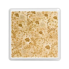 Flower Pattern In Soft  Colors Memory Card Reader (square)