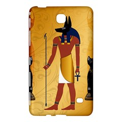 Anubis, Ancient Egyptian God Of The Dead Rituals  Samsung Galaxy Tab 4 (8 ) Hardshell Case  by FantasyWorld7
