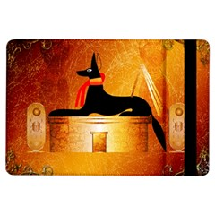Anubis, Ancient Egyptian God Of The Dead Rituals  Ipad Air Flip by FantasyWorld7