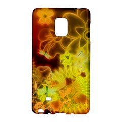 Glowing Colorful Flowers Galaxy Note Edge by FantasyWorld7