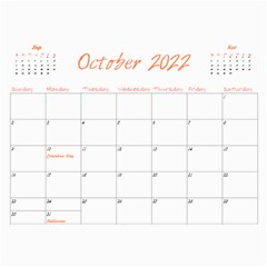 2016 Miracle Vol1   Wall Calendar 11x8 5 (12months) By Picklestar Scraps   Wall Calendar 11  X 8 5  (12 Months)   8vjgmu2hvuu0   Www Artscow Com Oct 2016