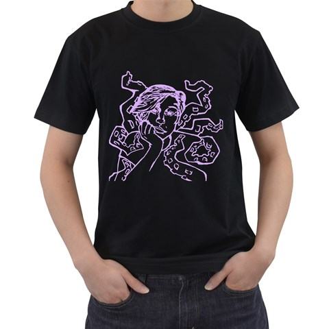 By Cassondra   Men s T Shirt (black)   2zsc0x7ry0lv   Www Artscow Com Front