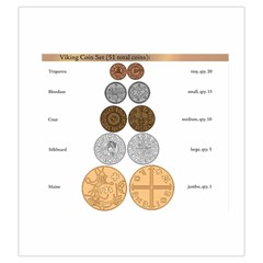 Viking Coin Bag By Russell Khater   Drawstring Pouch (large)   S9ny5q6fh1k2   Www Artscow Com Front