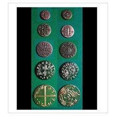 Viking Coin Bag By Russell Khater   Drawstring Pouch (large)   S9ny5q6fh1k2   Www Artscow Com Back